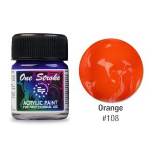 Ακρυλικό Χρώμα  Πορτοκαλί 108