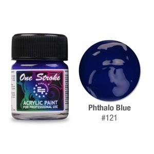 Ακρυλικό Χρώμα Μπλε Σκούρο  121